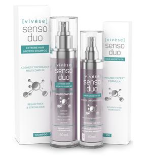 Vivese Senso Duo Oil 2 – Masz dość tego, iż każdego dnia Twoja fryzura jest coraz mniej spektakularna? Koniec z wypadaniem włosów!