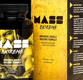 Mass Extreme – Lepsza rzeźba i napompowana sylwetka, to coś co otrzymasz bez problemu z Mass Extreme!