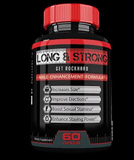 Long&Strong – Dłuższa, mocniejsza i twardsza erekcja? Spróbuj ten wspaniały suplement!